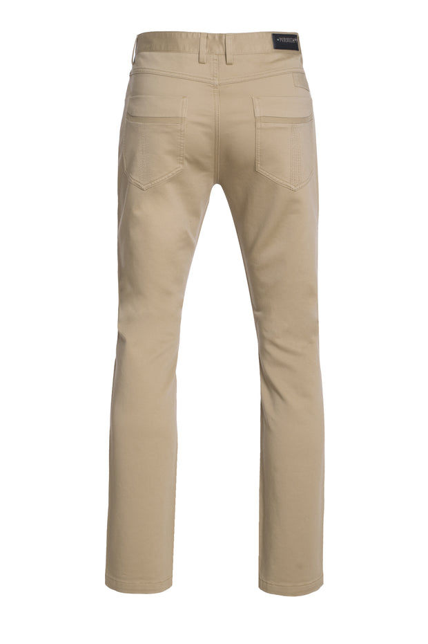 Khaki Slim Premium Quality Pants (1120)