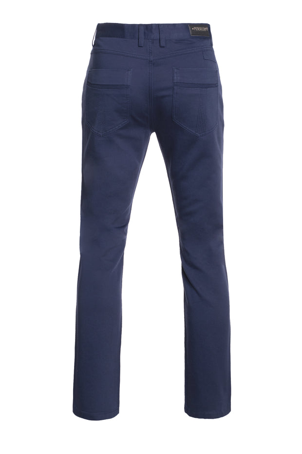 Navy Slim Premium Quality Pants (1120)