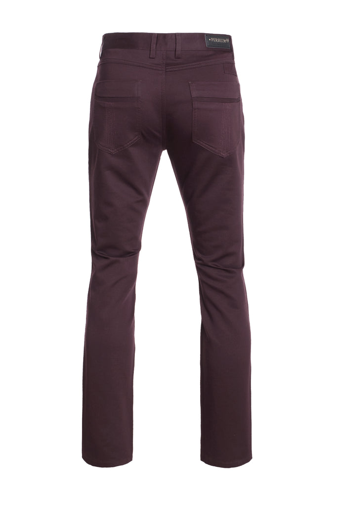 Wine Slim Pants (1120)