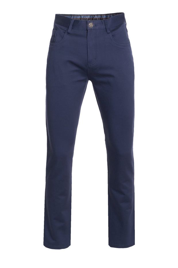 Men's Navy Slim Premium Quality Pants