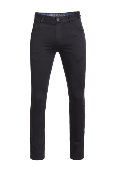 Men's Black Skinny  Premium Quality Pants