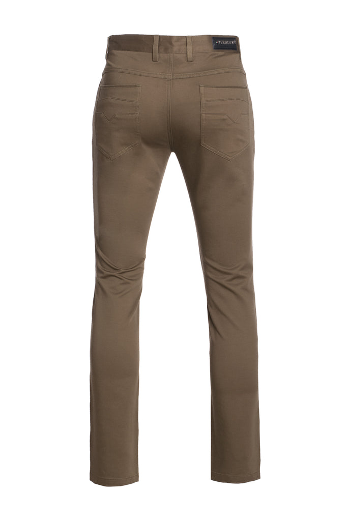 Brown Skinny Pants (1121)
