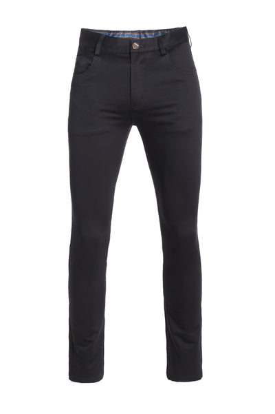 Men's Black Skinny Pants