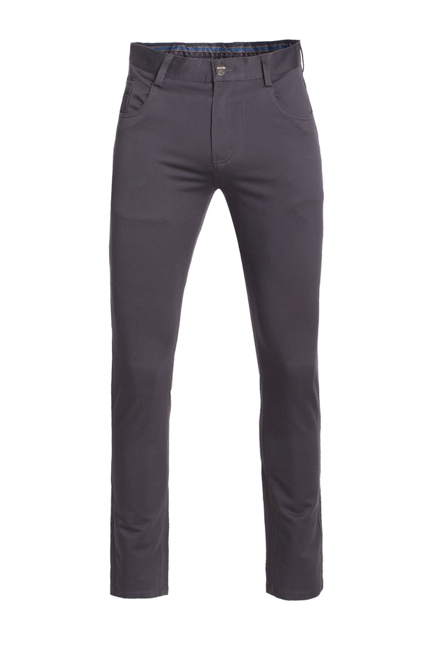 Men's Charcoal Skinny Pants