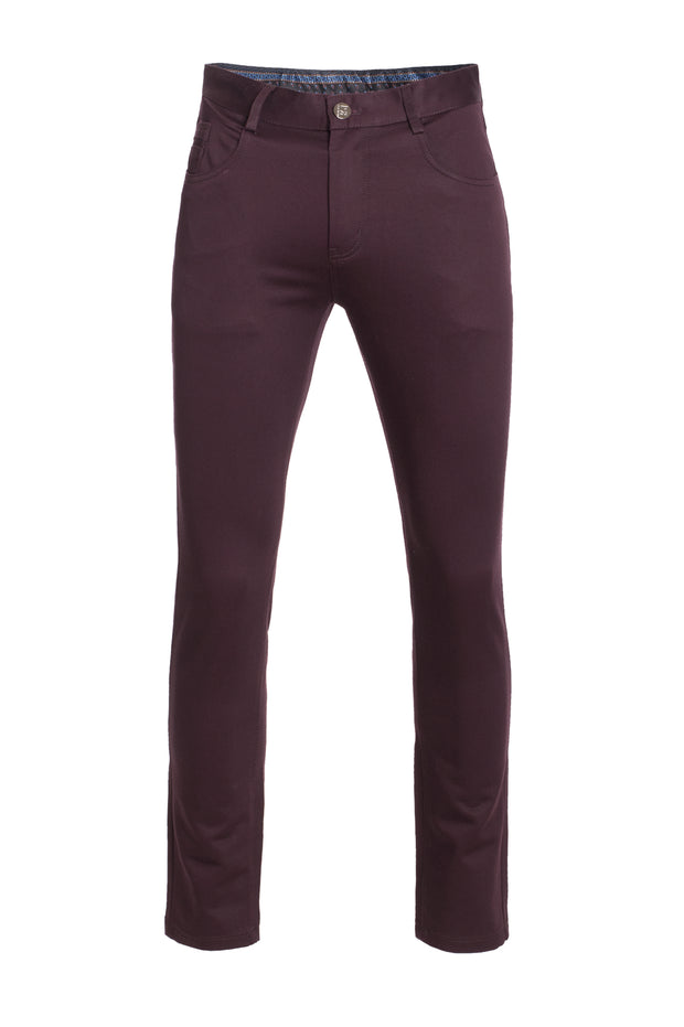 Burgundy Skinny Pants (1122)