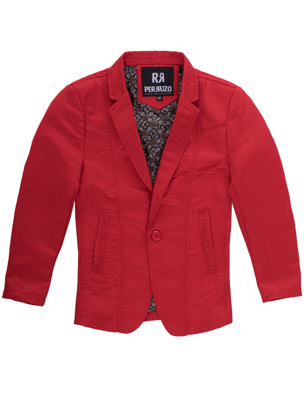 Red Boys Blazer