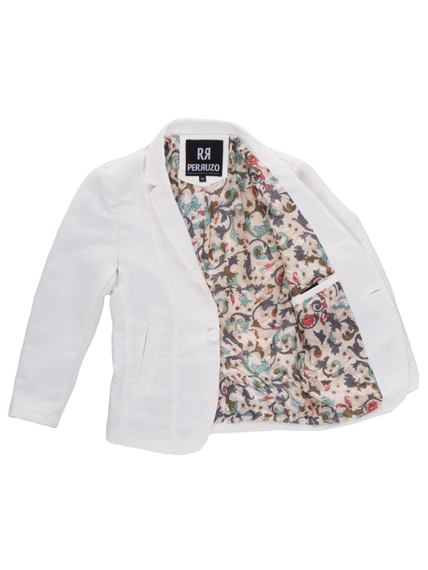 White Boys Blazer (1326B)