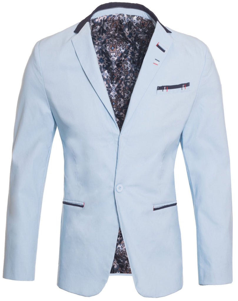 French Blazer with Single Button (1343)