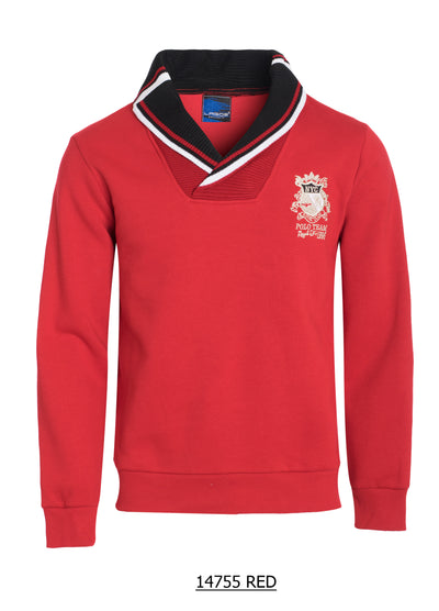 S-28 Polo Team Red Sweater