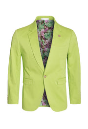 Apple Cotton-Stretch Fashion Blazer