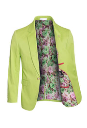 Apple Cotton-Stretch Fashion Blazer (1720)