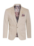 Khaki Cotton-Stretch Fashion Blazer (1720)