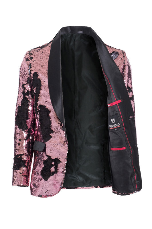 Pink/Black Sequin Blazer (1778)