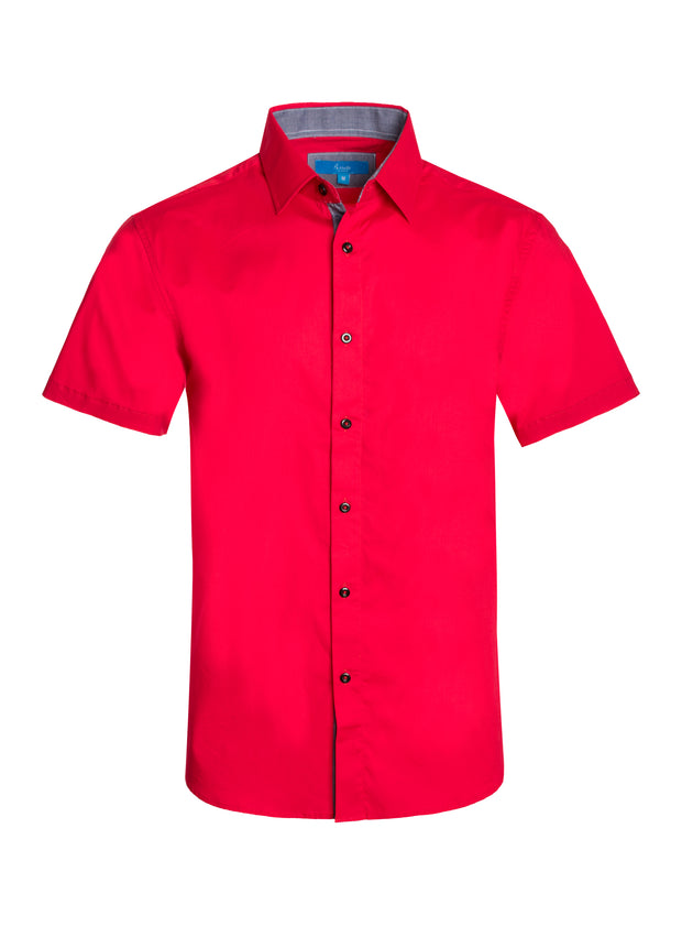 Men's Cotton Short Sleeve Shirt