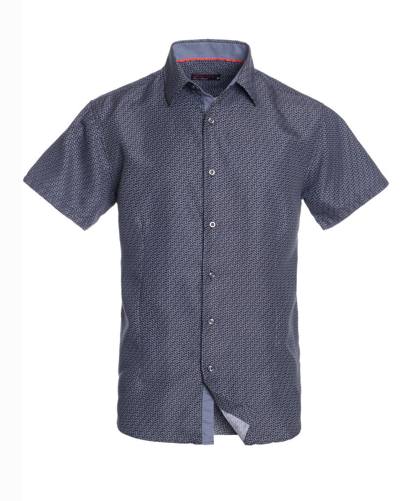 MR21- Black Short Sleeve Shirt (3723S)