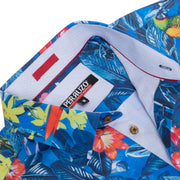 Pacific Floral Stretch Short-Sleeve Shirt (3754)