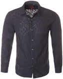 Navy Long Sleeve Shirt (4009L)