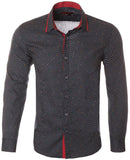 MR21-Navy Long Sleeve Shirt (4808L)