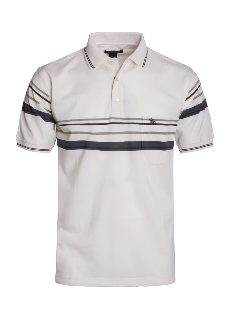 Kings Club Ivory Polo (5348)