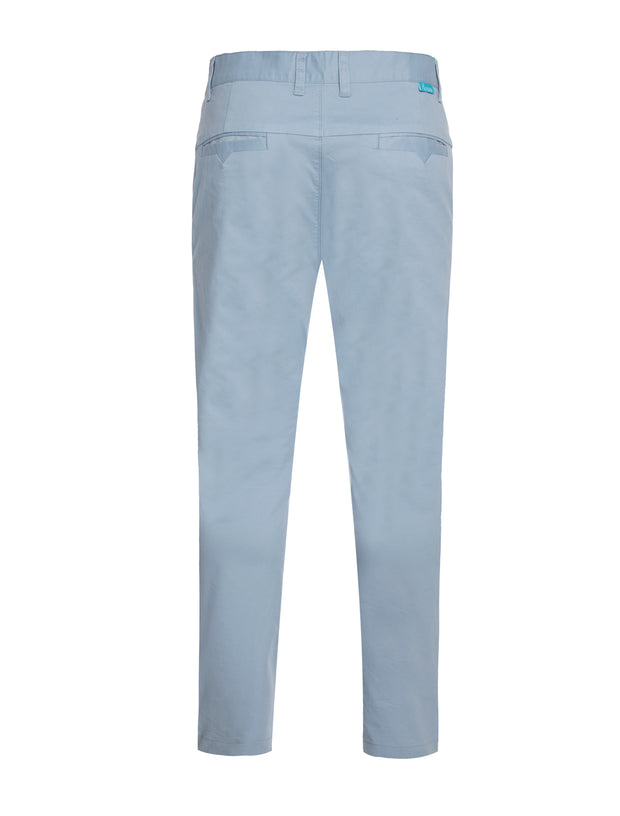 6100 Sky Cotton-Stretch Chino