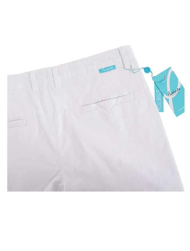 6100 Snow Cotton-Stretch Chino