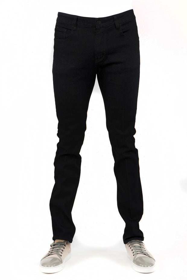 Jet Black Skinny-Stretch Jean (714)