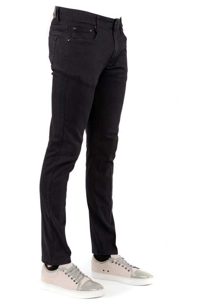 Black Skinny-Stretch Jean (714)