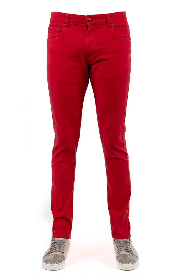 Red Skinny-Stretch Jean (714)