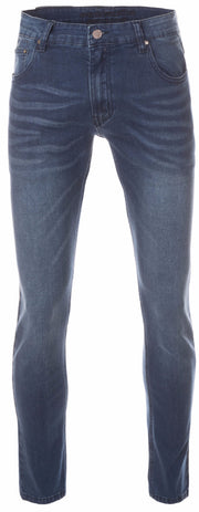 Men's Wash Blue Slim-Stretch Jean