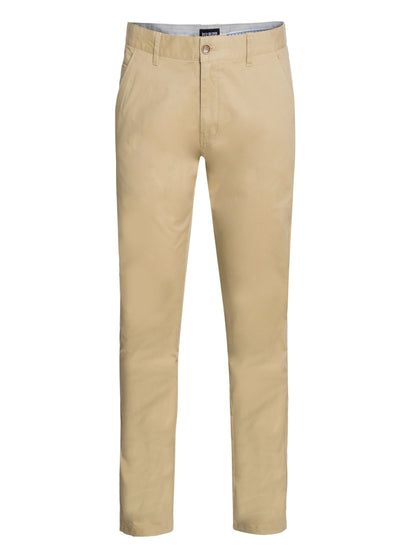 Khaki Cotton-Stretch Chino (724)