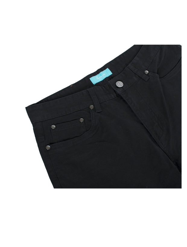 7300 Black Slim-Stretch Jean