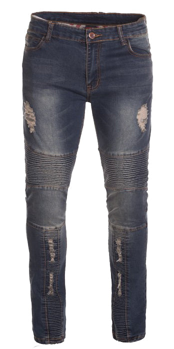 Dark Wash Fashion Jeans (7508)