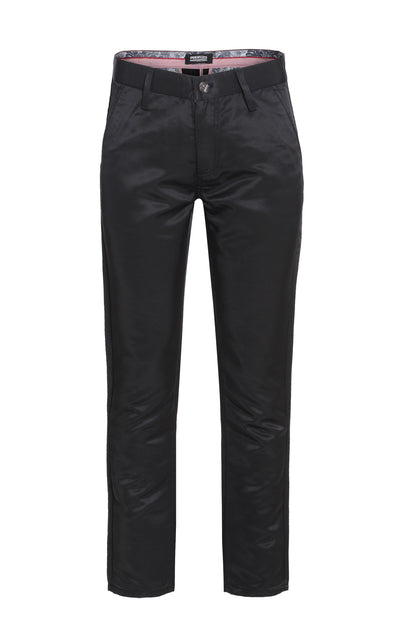 Men's Black Premium Pants