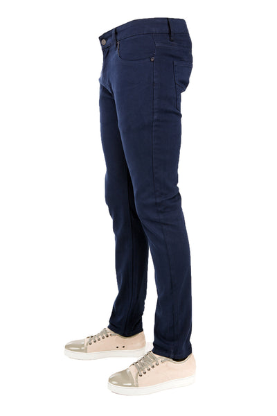 Men's Navy Skinny-Stretch Jean