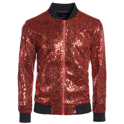 Red Bomber Jacket (P1782)