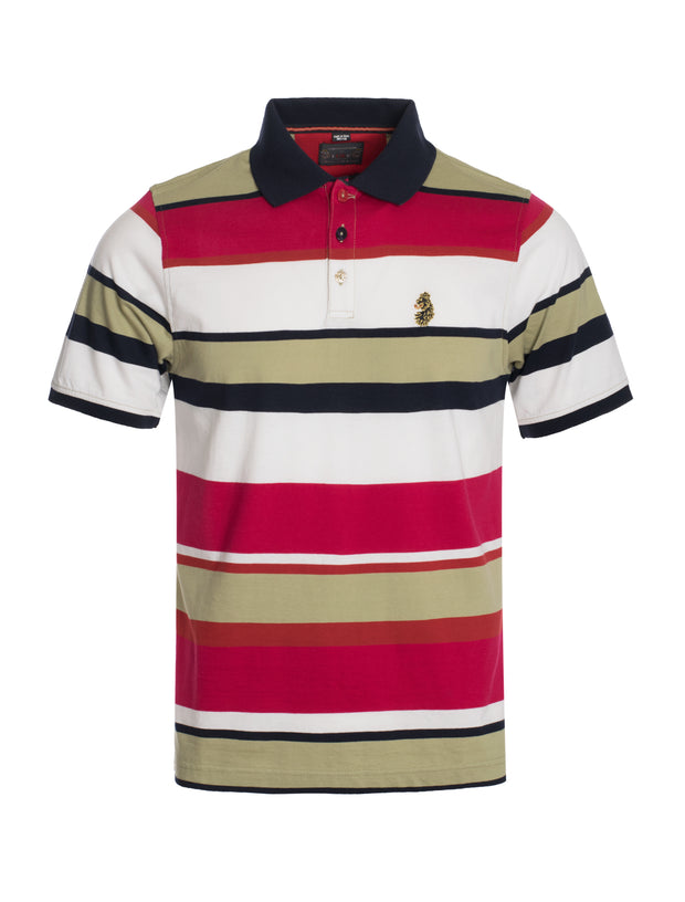 S103  Multicolor Polo Shirt