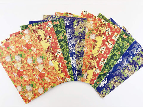 Chiyogami Note Cards