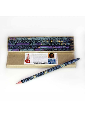 Decorative Paper Pencil Pack - Pauline Nampijinpa Singleton