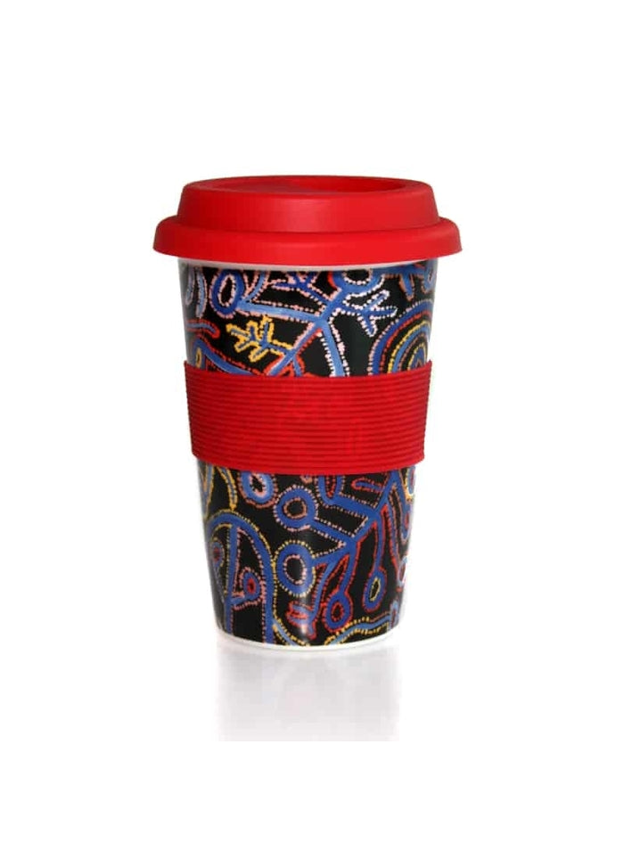Better World Arts Eco Travel Mug - Theo Hudson