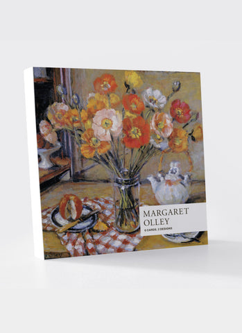 Margaret Olley Card Pack - Poppies & Spring Bunch