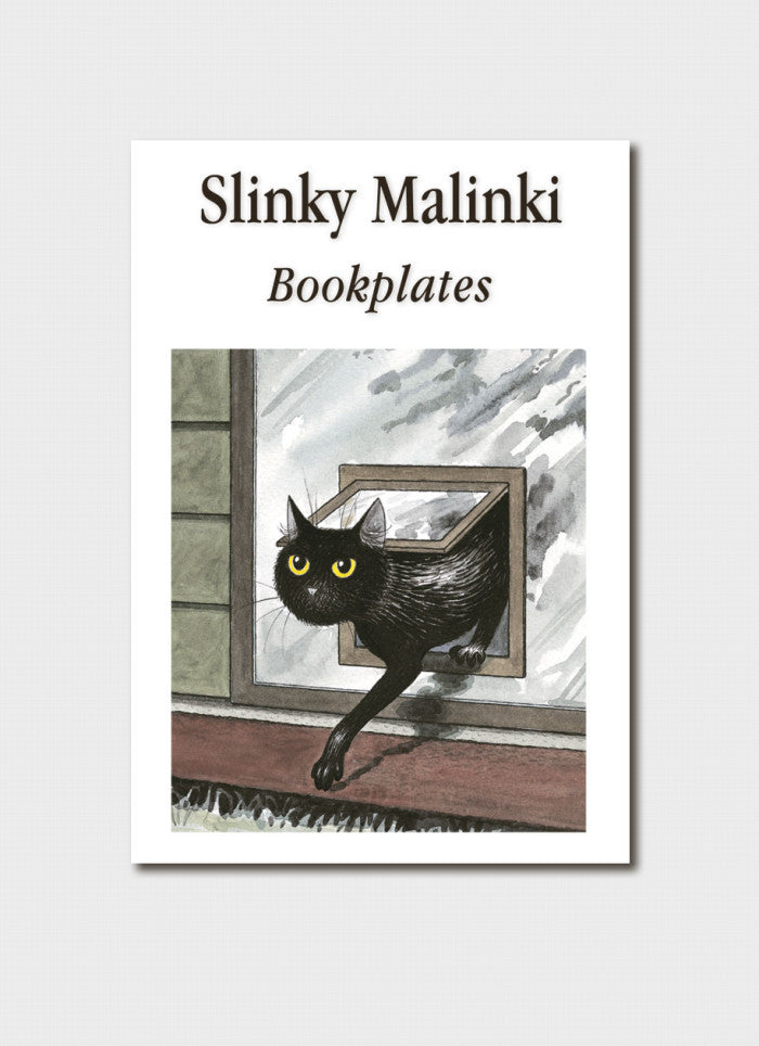 Slinky Malinki Bookplates