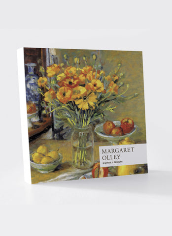 Margaret Olley Card Pack - Delphiniums & Ranunculus