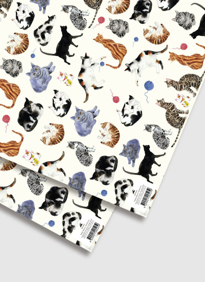 Gabby Malpas Catisfaction Wrapping Paper