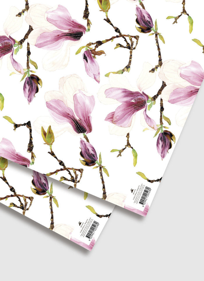 Gabby Malpas Magnolia Wrapping Paper