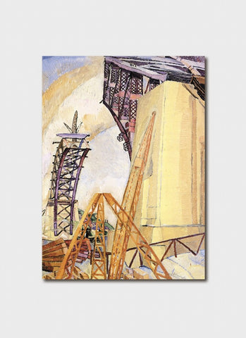 Grace Cossington Smith - Bridge in Building