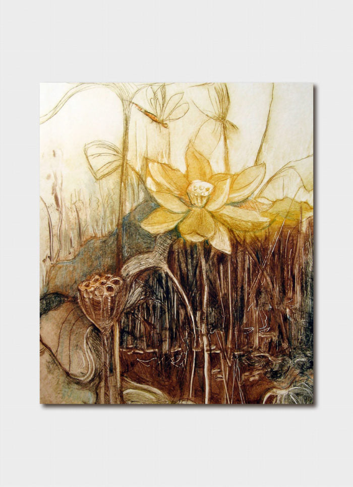 Jo Hollier - Lotus Pond