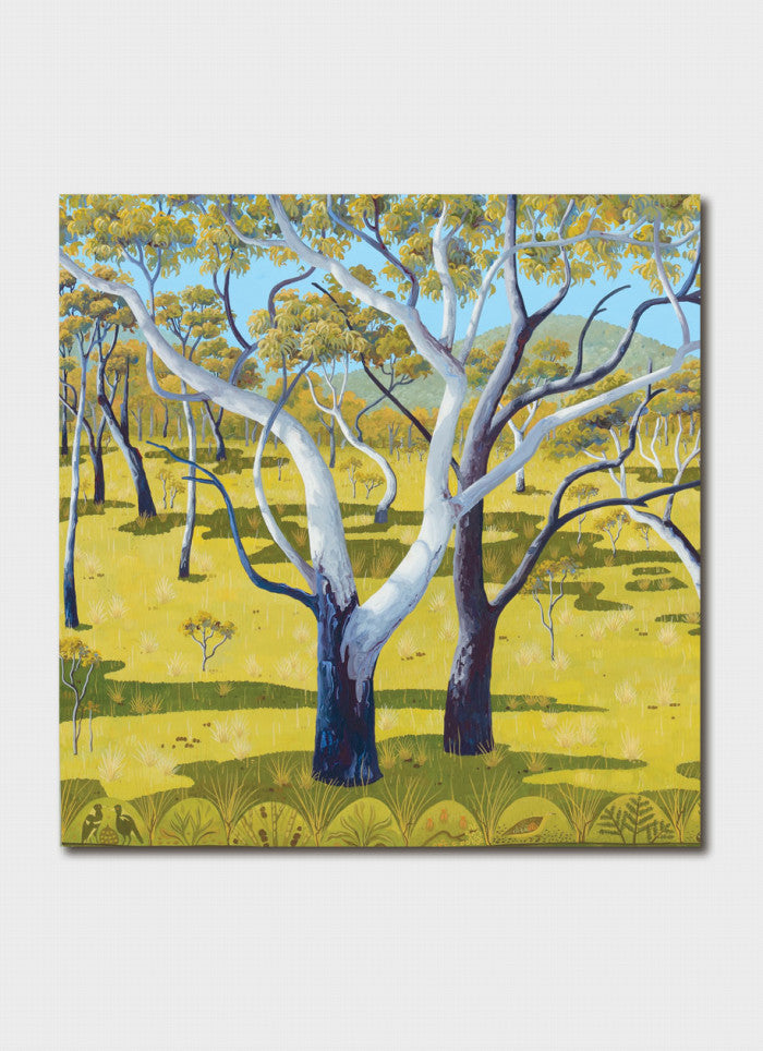 Annie Franklin Art Card - Grassy Woodland Detail
