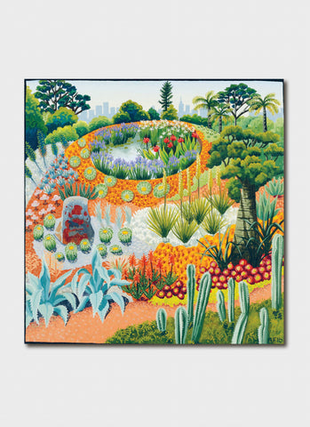 Annie Franklin Art Card - Royal Botanic Garden 36 degrees