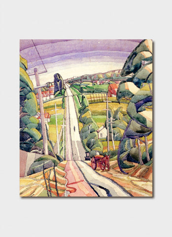 Grace Cossington Smith - Eastern Road