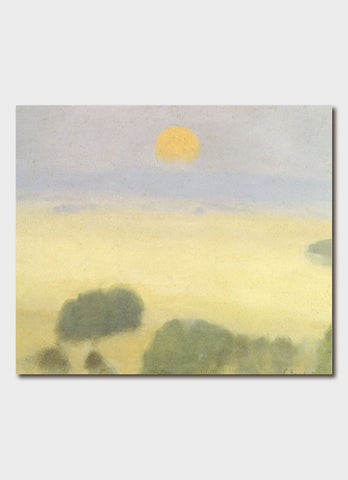Clarice Beckett Art Card - Summer Fields